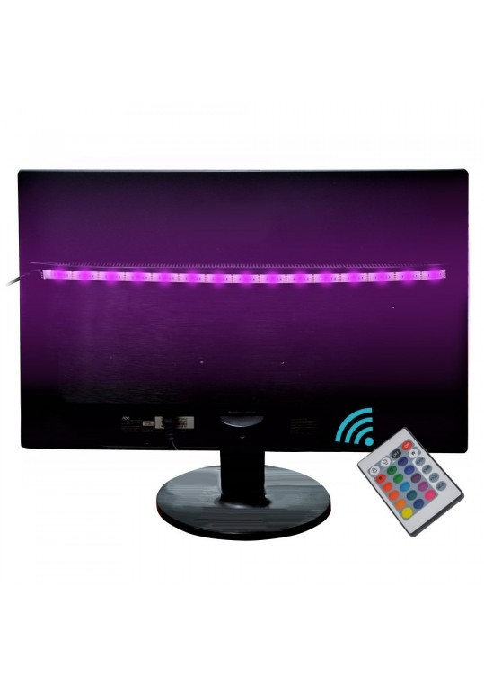 Bias lighting tv backlight salute led strip light usb powered multi bias lighting tv backlight salute led strip aloadofball